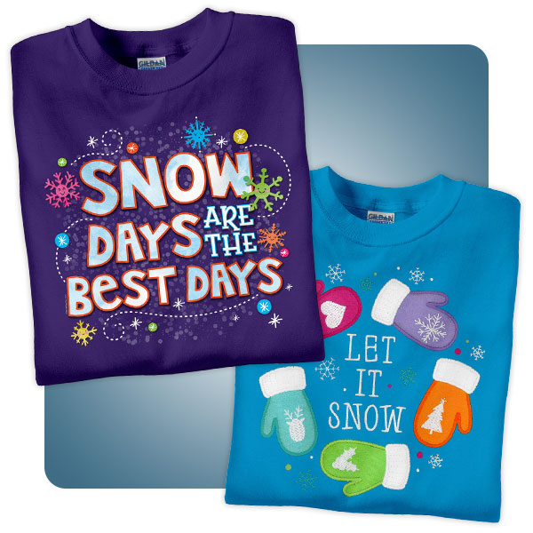 Snow Day Shirts