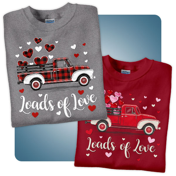 Occupational Shirts for Valentine's Day