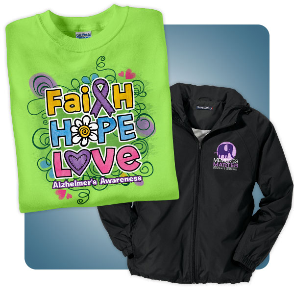 Alzheimers Disease Awareness T-Shirts