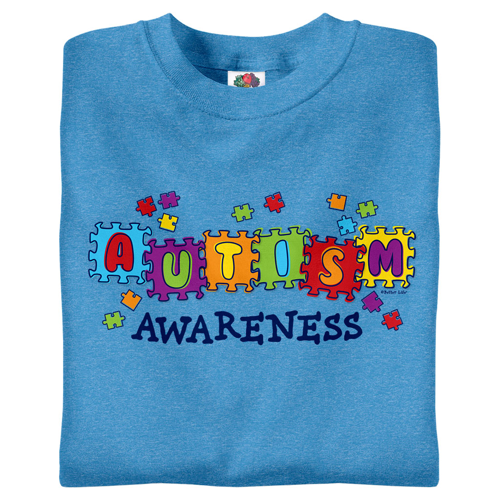 c6bf5256d51 Autism Awareness T-Shirts & Gifts | Awareables® | WorkPlacePro